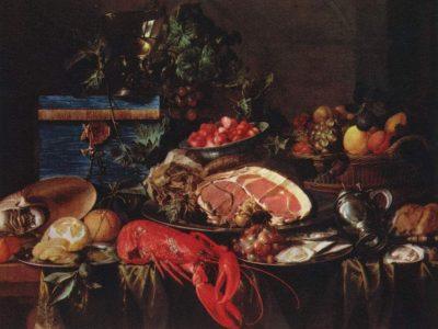 Meisterwerke der Küche. Jan Davidsz de Heem [Public domain]