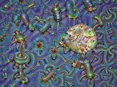 Eine Traumwelt, die durch einen Algorithmus erstellt wurde.