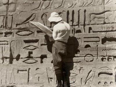Egyptische monumenten, Egypte 1927.