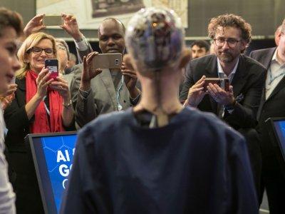 Der humanoide Roboter