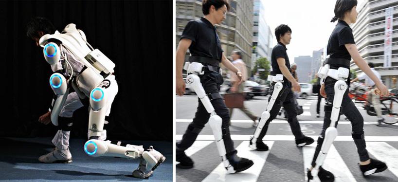 Von der Zukunftsvision in die Wirklichkeit: Exoskelette. Foto: Prof. Sankai, University of Tsukuba / CYBERDYNE Inc.