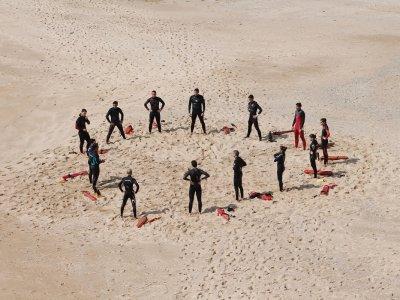 Bei den Rettungsschwimmern gibt es keinen Boss. Das Ziel, Menschenleben zu retten, vereint harmonisch. Foto: Margarida Csilva