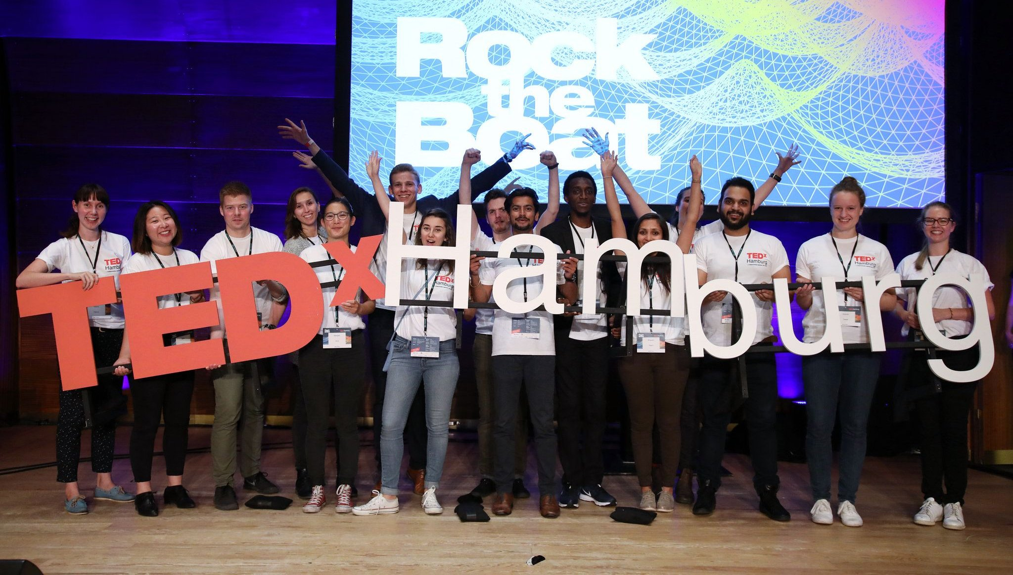 TEDxHamburg 2017, Photo: Sebastian Gabsch