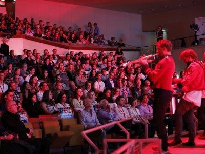 TEDxBerlin 10 Years, 2018, Foto: Sebastian Gabsch