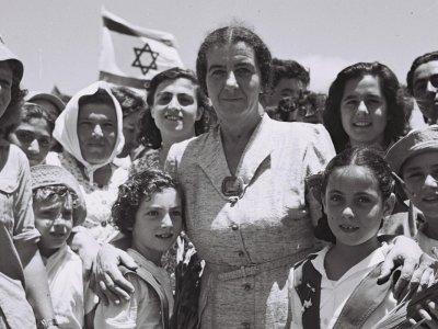 Die Vision der Kibbutz: einen Ort zu schaffen in der alle Gemeinschaftsmitglieder gleichberechtigt sind. Foto: Théodore Brauner - available from National Photo Collection of Israel