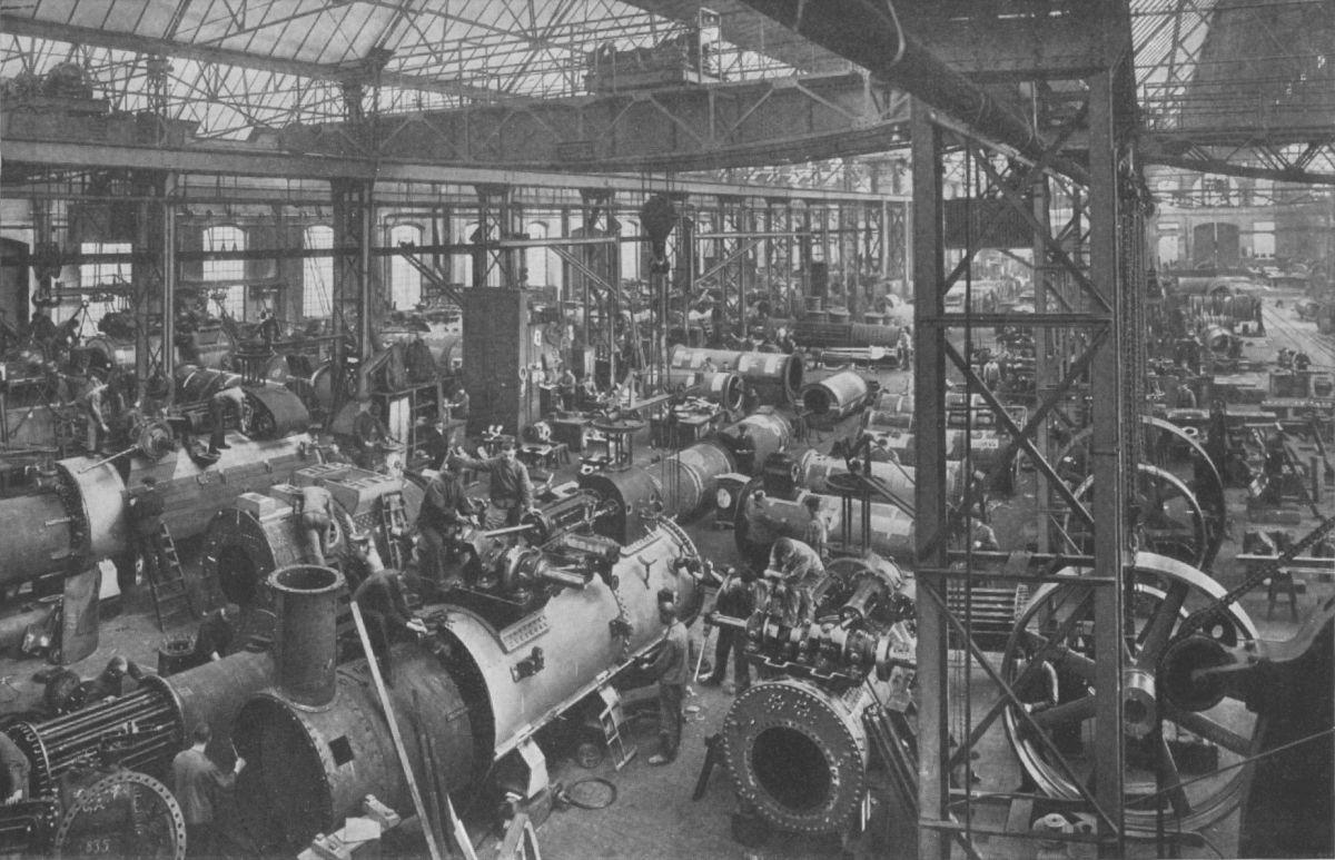 Mehr Maschinen heißt auch mehr Müll. Foto: Waldemar Titzenthaler (1869-1937) -