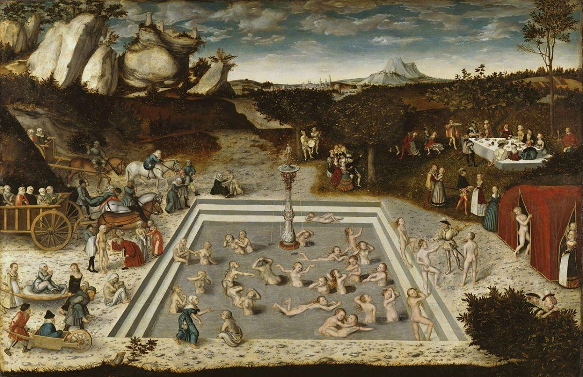 Was fasziniert den Menschen so sehr an der Legende des Jungbrunnen, dass er sie sich über Jahrhunderte hinweg immer wieder neu erzählt und erschafft? Bild: Lucas Cranach der Ältere