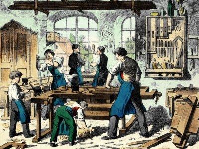 Ein Dach über dem Kopf und eine warme Mahlzeit: Wer als Lehrling in einem Betrieb untergekommen ist, war meist auf der sicheren Seite.