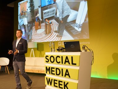 SOCIAL MEDIA WEEK HAMBURG 2017 28. Februar bis 02. März 2018