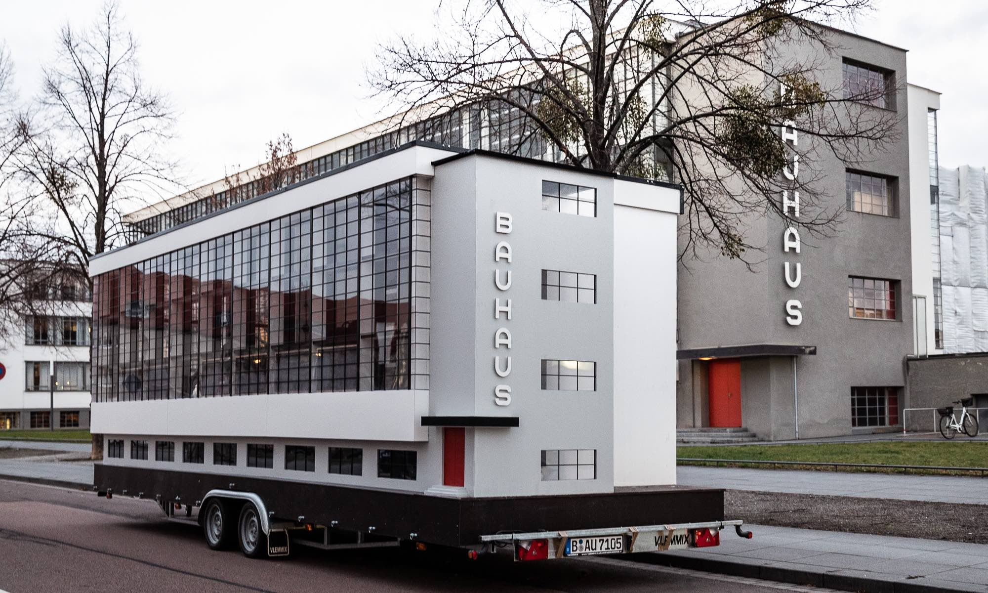 Bauhaus Als Er Fahrbarer Raum Weltkulturerbe Auf Vier Rädern