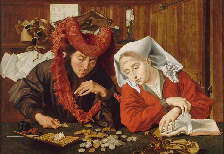 Gemälde: Marinus van Reymerswale