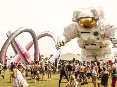Das Coachella Festival in Californien zieht jährlich 200.000 Besucher an. Foto: Andrew Ruiz.