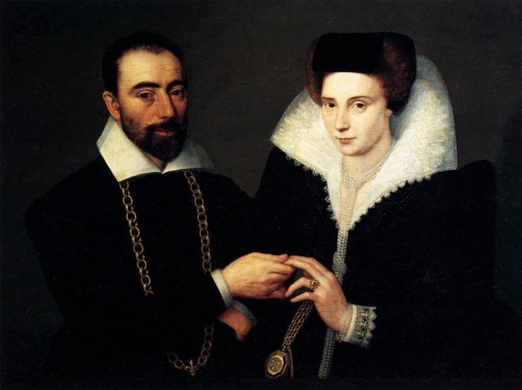 Eheverträge sorgten für die Gleichberechtigung von Mann und Frau innerhalb der Ehe. Bild: Buchcover des Dramas