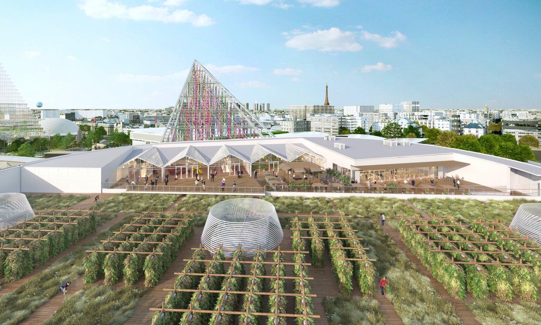 Rooftop-Farming – der neue Kult der Großstädte. Fotocredits: VALODE & PISTRE-ARCHITECTES.