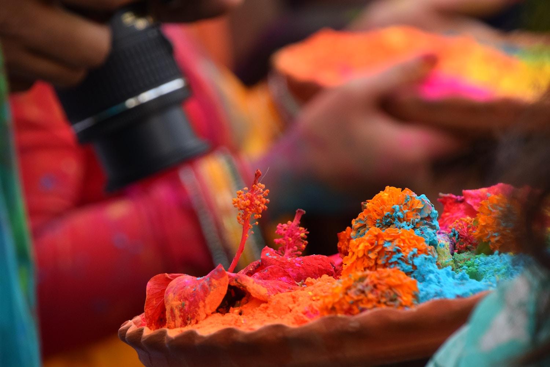 Das Holi-Fest ist Teil der indischen Kultur – kein Trend, den man beliebig adaptieren kann. Foto: Rajarshi Bhadra.
