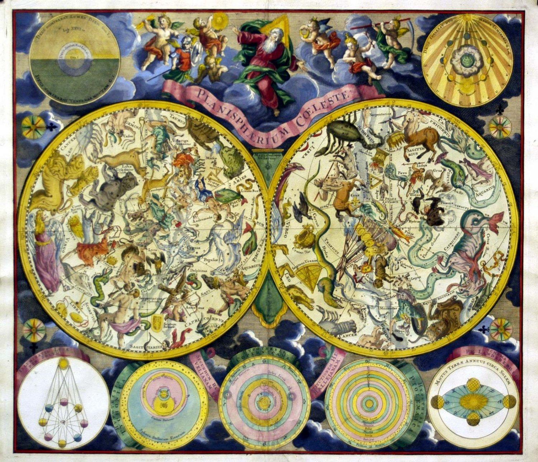 Schon vor Jahrhunderten und Jahrtausenden richteten die Menschen ihr Leben nach Sternkarten aus. Bild: George Christoph Eimmart, via Wiki Commons, gemeinfrei.