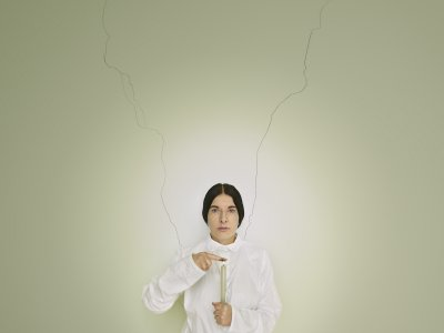 Marina Abramović, 'Artist Portrait with a Candle (C)', from the series Places of Power, 2013. Fine art pigment print. Brazil. Courtesy of the Marina Abramović Archives © Marina Abramović