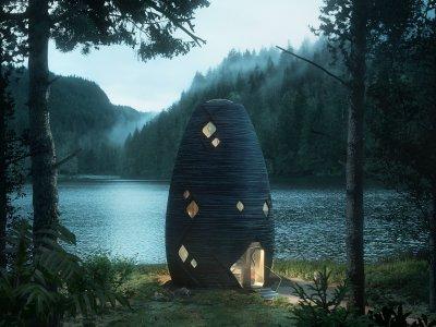 3D gedrückte Häuser könnten in Zukunft den Hausbau revolutionieren. Vom Maurer über den Trockenbaumonteur bis zum Fliesenleger könnten ganze Berufszweige überflüssig werden.  Foto: Tera - Moonshine, Plomp.