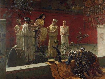 Die Weissagungen der Priester*innen von Delphi beeinflussten über Jahrhunderte die politischen Entscheidungen der antiken griechischen Herrscher. Foto:
