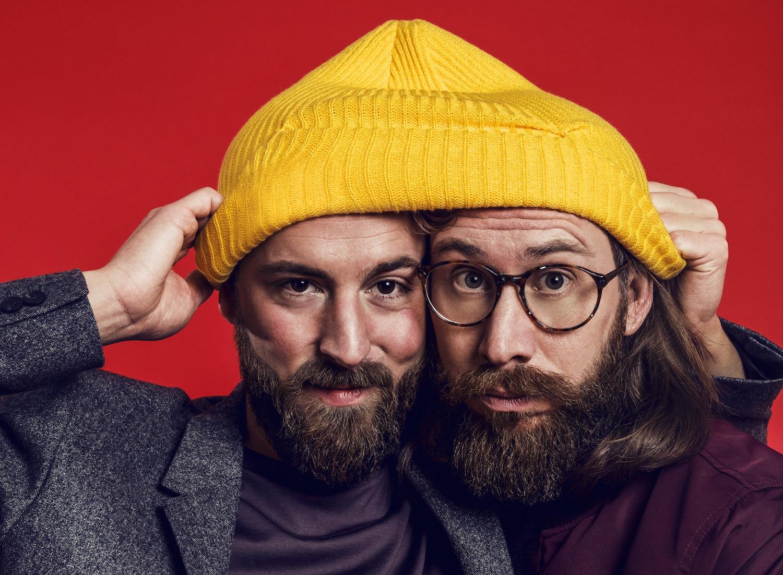 Die Gründer von einhorn, Waldemar Zeiler und Philip Siefert, haben sich ganz der nachhaltigen Wirtschaft verschrieben. Foto: Robert Wunsch.