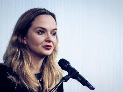 Kristina Lunz ist Gründerin und Direktorin des Centre for Feminist Foreign Policy in Deutschland und setzt sich für mehr Gender Equality in Machtpositionen ein. Foto: Foto: Munich-Security-Conference.