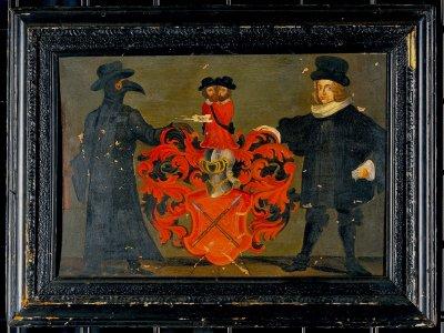 Theodor Zwinger der Ältere war ein eidgenössischer Gelehrter, Arzt und Medizinprofessor (1658-1724). Dieses Porträt zeigt ihn in seiner Arbeitsuniform und in Zivil. Wellcome Collection. (CC BY 4.0)