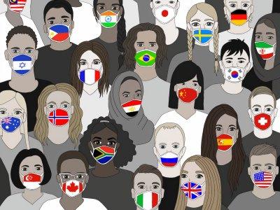 die aktuelle Covid-19 Pandemie zwingt uns auf ihre ganz eigentümliche Weise, solidarisch zu sein. Und das nicht nur auf nationaler Ebene. Bild: United Nations Covid-19 Response.