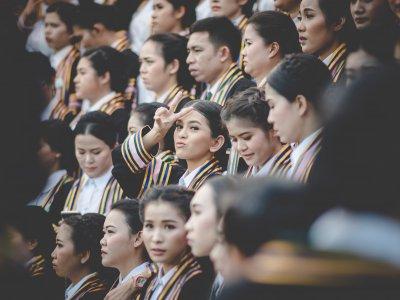Durch die Corona-Pandemieschlitterten jene Universitäten in die Krise, die ihren Schwerpunkt auf ausländische Student*innen legen.Bild: Mr.Autthaporn Pradidpong.