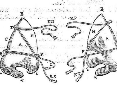 Schon die alten Ägypter hatten vor inzwischen mehr als 3000 Jahren Nasen rekonstruiert. Bild: Gaspare Tagliacozzi (1597).